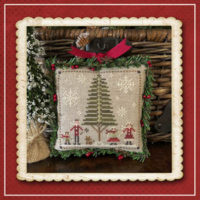 Jack Frost's Tree Farm 3 -Family Fun Cross Stitch Pattern – Little House Needleworks