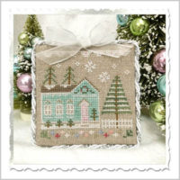 Glitter House 7 Cross Stitch Pattern by Country Cottage Needleworks