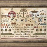 Farm Life Cross Stitch Pattern Little House Needleworks