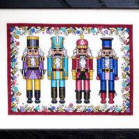 Royal Nutcrackers Cross Stitch Pattern Bobbie G Designs