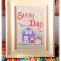 Sunny Days Cross Stitch Pattern by Pickle Barrel Designs
