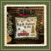 Jack Frost's Tree Farm 4 – Balsam Fir Cross Stitch Pattern – Little House Needleworks