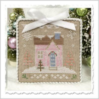 Glitter House 8 Cross Stitch Pattern by Country Cottage Needleworks