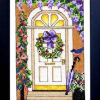Welcome Spring Cross Stitch Pattern Bobbie G Designs