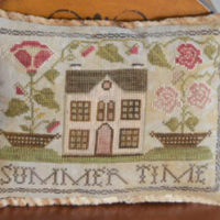Summer Time Cross Stitch Pattern ~ Abby Rose Designs