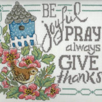 Be Pray Gives Cross Stitch Pattern by Imaginating