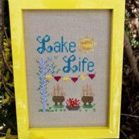 Lake Life Cross Stitch Pattern by Pickle Barrel Designs