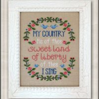 My Country Cross Stitch Pattern by Country Cottage Needleworks