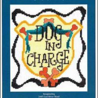 Dog In Charge Cross Stitch Pattern by Imaginating