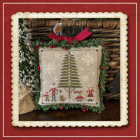 Jack Frost's Tree Farm 5- HotCocoa Cross Stitch Pattern – Little House Needleworks