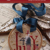 Holiday Hoopla – 4th Of July Cross Stitch Pattern by With Thy Needle & Thread