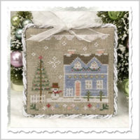 Glitter House 9 Cross Stitch Pattern by Country Cottage Needleworks