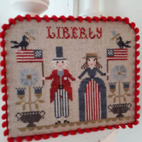 Liberty Cross Stitch Pattern by Tralala