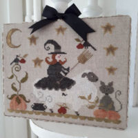 Mouton D'Halloween Cross Stitch Pattern by Tralala