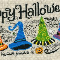 Happy Halloween Quintet Cross Stitch Kit by Imaginating
