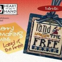 Merry Making Mini – Land Of The Free Cross Stitch Pattern by Heart In Hand Needleart