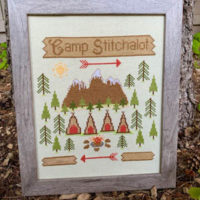 Camp Stitchalot Cross Stitch Pattern by Pickle Barrel Designs