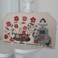 Rosy Cross Stitch Pattern by Tralala