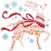 Let's Find Rudolph Cross Stitch Pattern by Imaginating