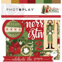 PhotoPlay Christmas Memories Ephemera Cardstock Die-Cuts