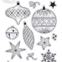 PhotoPlay Christmas Memories Photopolymer Stamp Elements