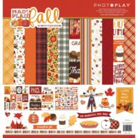 PhotoPlay Mad 4 Plaid Fall Collection Pack 12″X12″