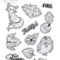 PhotoPlay Mad 4 Plaid Fall Photopolymer Stamp