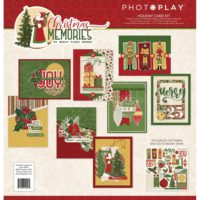 PhotoPlay Christmas Memories Collection Card Kit