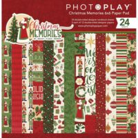 PhotoPlay Christmas Memories Double-Sided Paper Pad 6″X6″ 24/Pkg