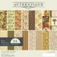 Authentique Gracious 8″ x 8″ Paper Pad
