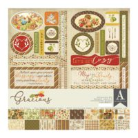 Authentique Gracious Collection Kit 12″ x 12″
