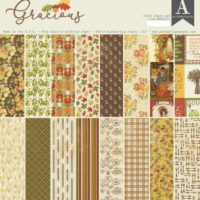 Authentique Gracious 12″ x 12″ Paper Pad