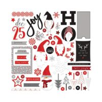 PhotoPlay Kringle & Co Collection Card Kit Stickers