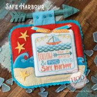 Safe Harbor Cross Stitch Pattern by Hands On Designs