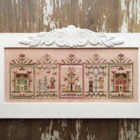 Fall Festival Cross Stitch Pattern by Country Cottage Needleworks