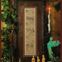 Holy NIght Cross Stitch Pattern by Shepherd's Bush