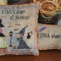 I Stitch Alone At Midnight Cross Stitch Pattern Abby Rose Designs