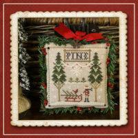 Jack Frost's Tree Farm 6 – Fresh Pines Cross Stitch Pattern – Little House Needleworks