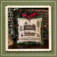 Jack Frost's Tree Farm 7 – Cookies Cross Stitch Pattern – Little House Needleworks