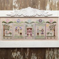 Spring Social Cross Stitch Pattern by Country Cottage Needleworks