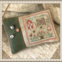 Rooster And the Hens Cross Stitch Pattern – Little House Needleworks