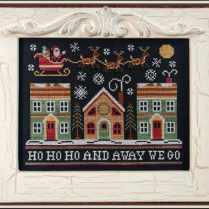 Away We Go Cross Stitch Pattern by Country Cottage Needleworks