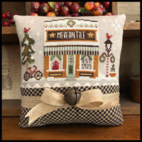 Hometown Holiday The Mercantile Cross Stitch Pattern by Little House Needleworks
