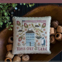 Bless Our Land Cross Stitch Pattern by Plum Street Samplers