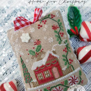 Home For Christmas – Souvenirs of the Heart Cross Stitch Pattern by With Thy Needle & Thread