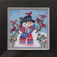 Mill Hill Winter Welcome – Beaded Cross Stitch Kit