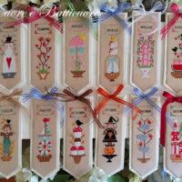 A  Book Per Month Cross Stitch Pattern by Cuore E Batticuore