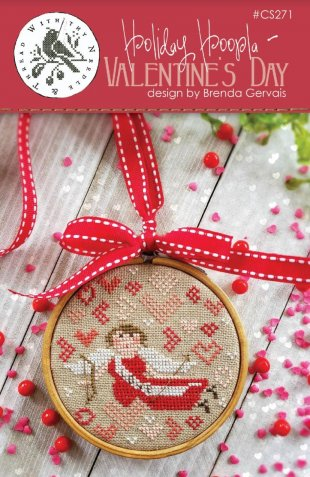 Holiday Hoopla - Valentine's Day Cross Stitch Pattern by With Thy Needle & Thread