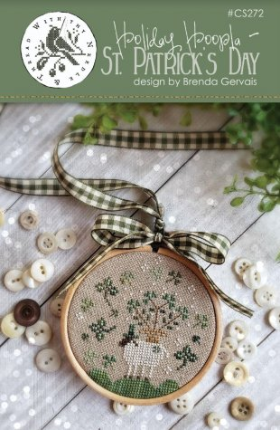 Holiday Hoopla - Happy St. Patrick's Day Cross Stitch Pattern by With Thy Needle & Thread