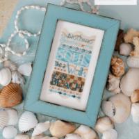 Walk on the Beach Cross Stitch Pattern by Erica Michaels